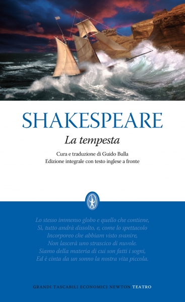 William Shakespeare, La tempesta, Newton Compton