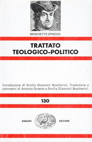 Baruch Spinoza, Tractatus theologico-politicus, Einaudi