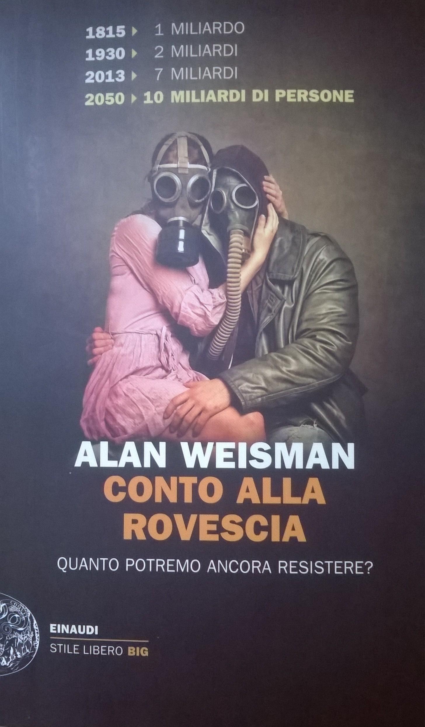 Alan Weisman, Conto alla rovescia, Einaudi