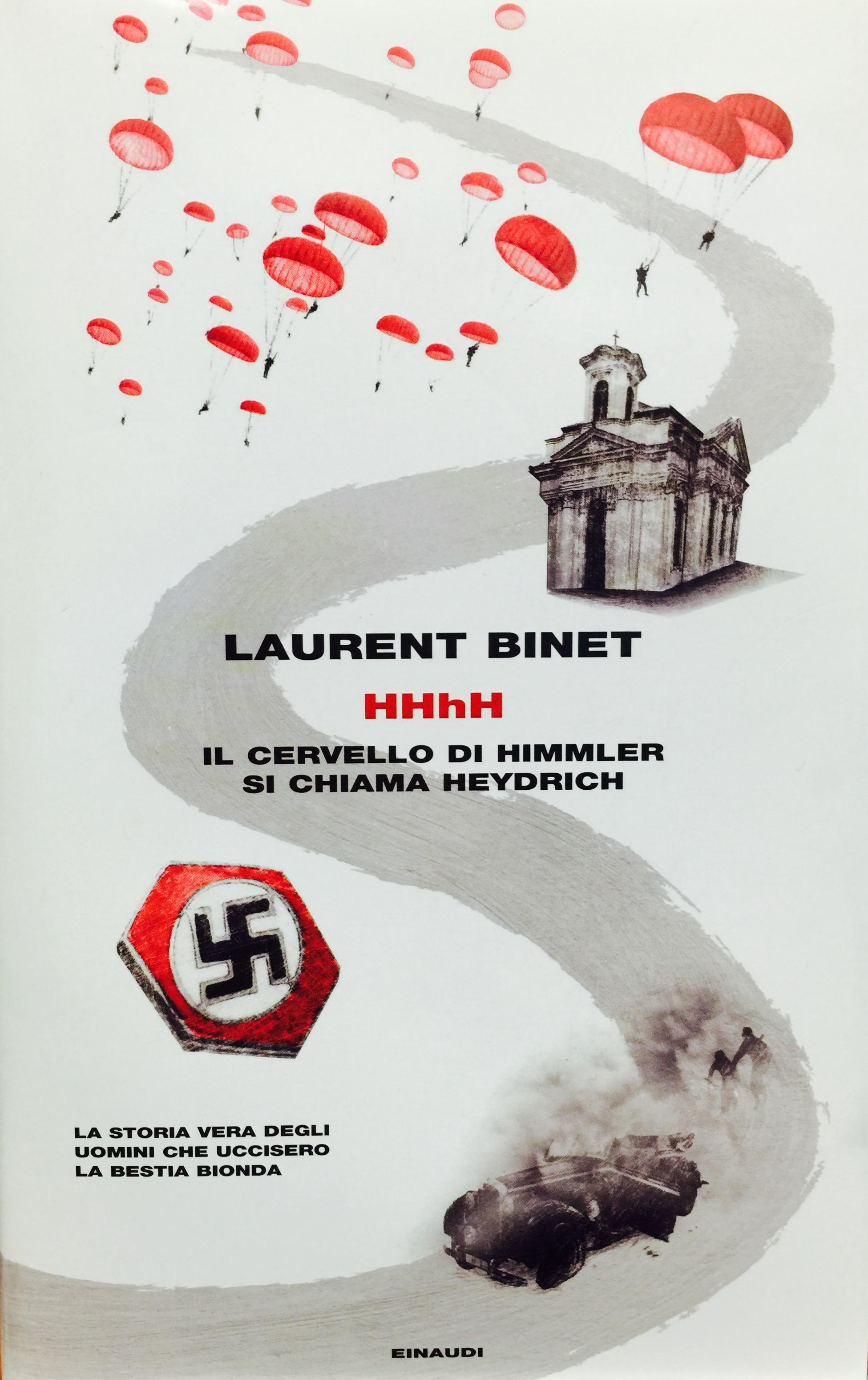 Laurent Binet, HHhH, Einaudi