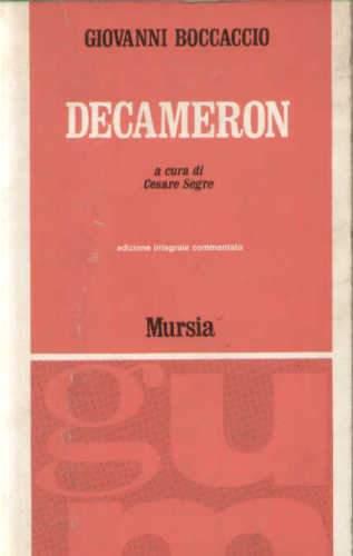 Giovanni Boccaccio, Decameron, Mursia