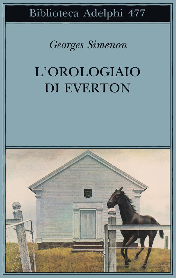 Georges Simenon, L'orologiaio di Everton, Adelphi