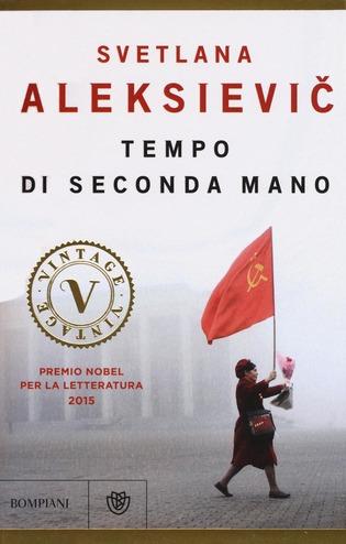 recensione - svetlana aleksievic - tempo di seconda mano